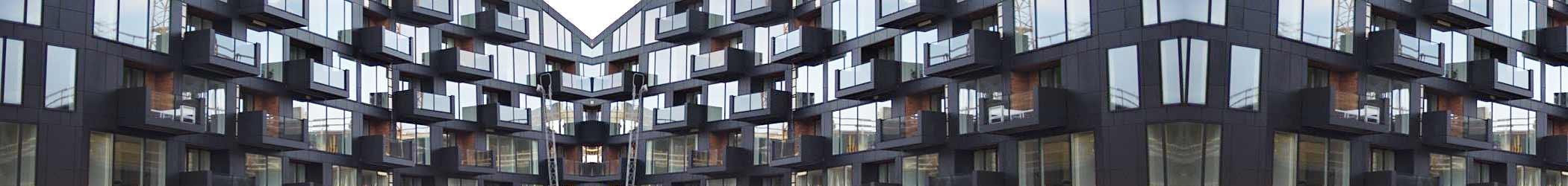 Krøyer plads- facade - B3- Bejdsning