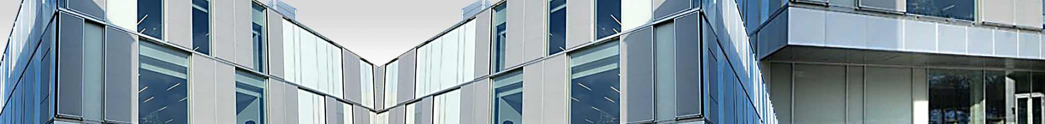 DTU Facade grå - Strækmetal - Naturanodiseret